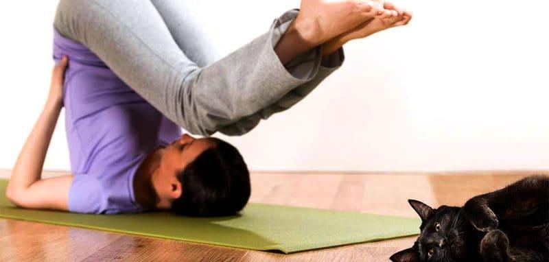 Есенен релакс с йога упражнения