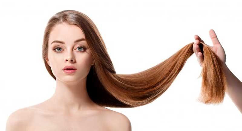 Блестяща и красива, поддържана коса