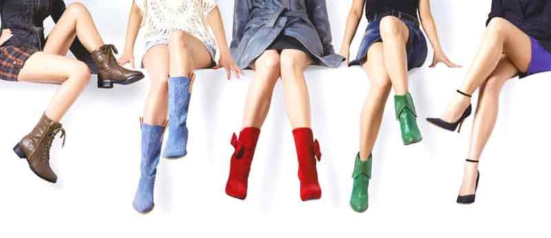 Жени и женските обувки за характера на човек